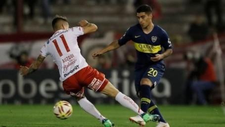 Boca no pudo resolver el planteo de Huracán e igualó 0-0